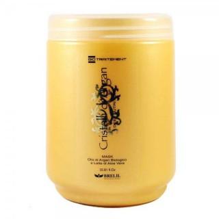 BIO Traitement Cristalli Di Argan Маска для волос увлажняющая масло арган Brelil 1000 мл