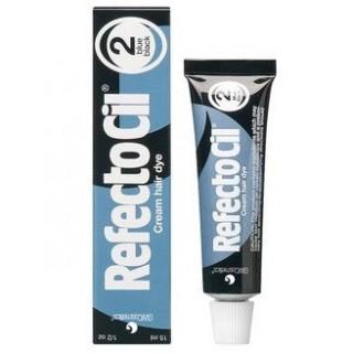 RefectoCil №2 Черно-синяя  - краска для бровей и ресниц, 15 мл