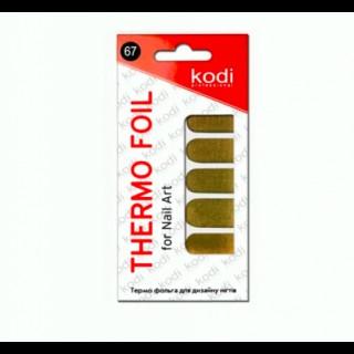 Термо фольга для дизайна Kodi (золото)