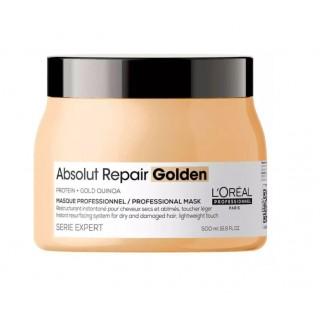 L'Oreal Маска для интенсивного восстановления волос Absolut Repair Gold Quinoa +Protein Mask 500 мл