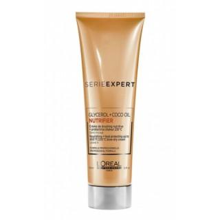 L'Oreal Nutrifier Несмываемый крем термозащитный для питания сухих волос 150 мл