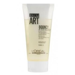 L'Oreal Tecni Art Крем Bouncy and Tender Крем для кудрей с антистатическим эффектом 150 мл