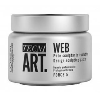 L'Oreal Tecni Art Web Design Sculpting Paste Паста для создания текстуры 150 мл
