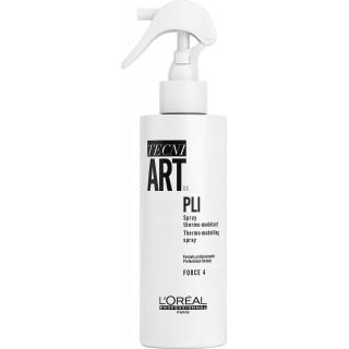 L'Oreal Tecni Art Спрей PLI Thermo-Modelling Spray терморегулирующий для укладки 190 мл