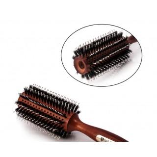 Брашинг деревянный 4777CLB продувной с комбинированной щетиной Salon Professional диаметр 25 мм