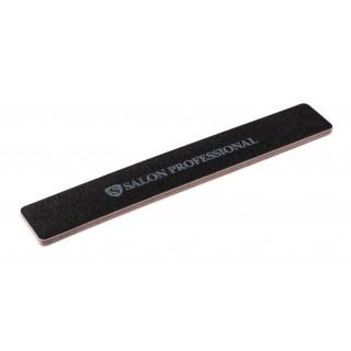 Пилочки Salon 100/100 черная широкая
