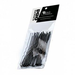 TICO Шпильки волнистые 60мм черные 100г