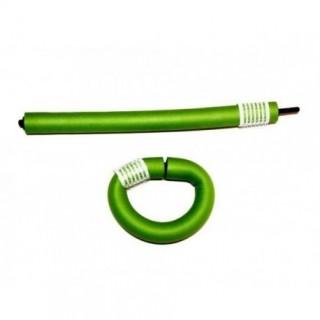TICO Бигуди гибкие 240мм D14мм 10шт зеленые
