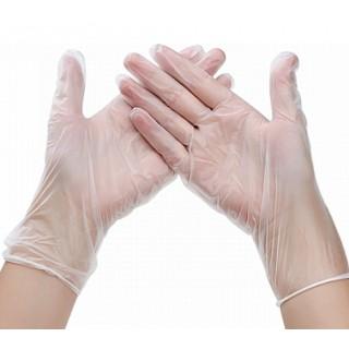 Перчатки XL виниловые без пудри нестерильные