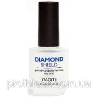 Naomi Быстросохнущий закрепитель Diamond Shield 15мл