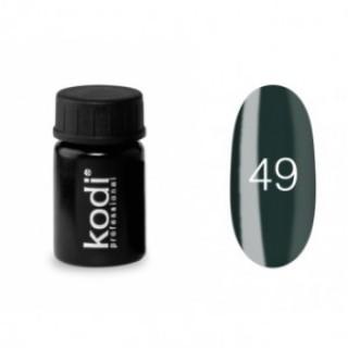 №49 Цветная Гель-краска Kodi professional 4мл