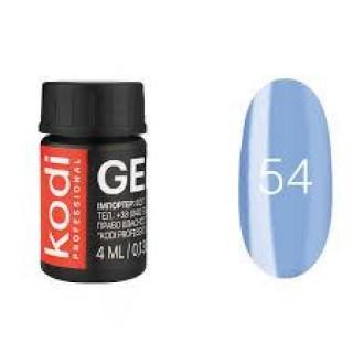 №54 Цветная Гель-краска Kodi professional 4мл