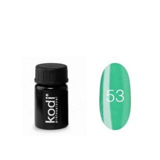 №53 Цветная Гель-краска Kodi professional 4мл