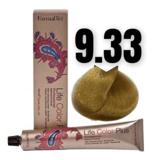 9.33 Life Color Plus Насыщенный очень светлый блондин золотистый 100 мл