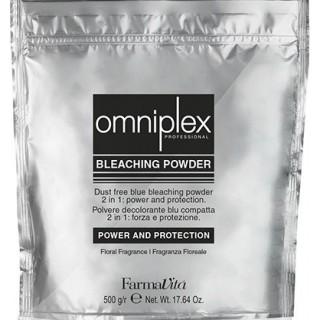 OMNIPLEX BLEACHING Farmavita Осветляющий порошок 2в1 (Голубой) 500 г