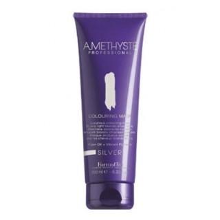 Macкa для светлых серебристых оттенков волос FarmaVita Amethyste Colouring Mask Silver 250 мл