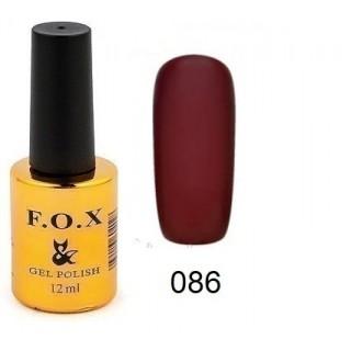 086 F.O.X gel-polish gold Pigment 12мл