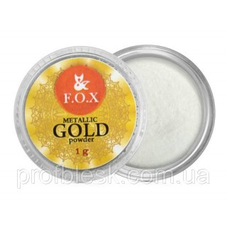 F.O.X Metalic mirror powder Gold, 1г