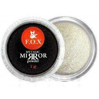 F.O.X Metalic mirror powder Silver, 1г