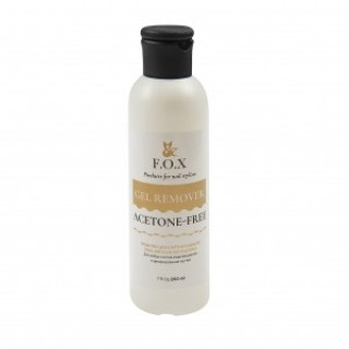 F.O.X  gold Gel Remover Acetone-Free 200 мл