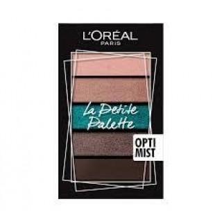 Loreal La Petit Palette тени Optimist 5*0.8 г