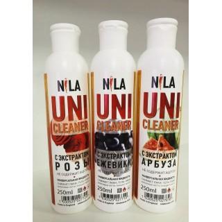 Универсальная жидкость зеленое яблоко 250 мл Uni-Cleaner Nila