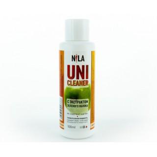 Жидкость д/снятия липкого слоя зеленое яблоко 100 мл Cleanser Nila