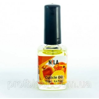 Масло для кутикул NILA Peach (персик) 12мл.