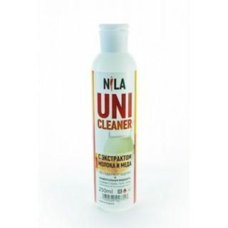 Жидкость для снятия липкого слоя молоко и мед 250 мл Cleanser Nila