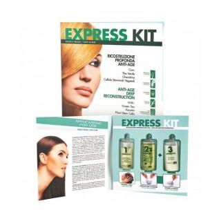 ING Набор для шокового восстановления волос Express Kit (3 х 10мл)