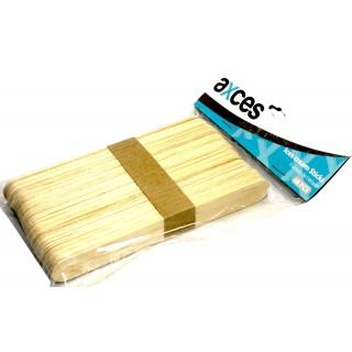 Шпатель деревянный AXCES 48штук