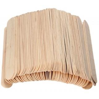 Шпатель деревянный AXCES 100штук (ТОП)***