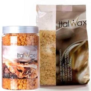 Акция !!! Воск в гранулах горячий для депиляции Натуральный Ital Wax 1 кг
