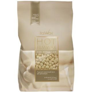 Акция !!! Воск в гранулах для чувствительной кожи Ital Wax Воск Белый Шоколад 1 кг