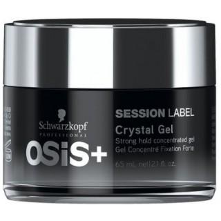 Гель сильной фиксации Schwarzkopf Professional OSiS+ Session Label Crystal Gel65 мл