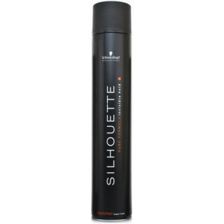 Акция !!! Лак для волос сильной фиксации Schwarzkopf Professional Silhouette Hairspray Super Hold 750 мл