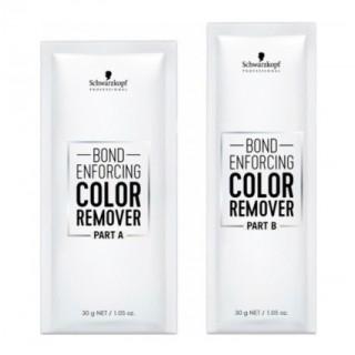 Средство для удаления искусственного пигмента с волос Schwarzkopf Bond Enforcing Color Remover 10x30 г