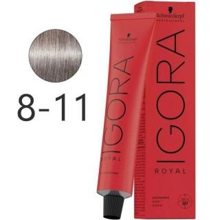Крем-краска для волос Schwarzkopf  Igora Royal 8-11 Светло-Русый Сандрэ Экстра 60 мл