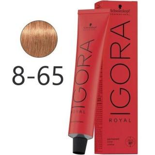 Крем-краска для волос Schwarzkopf Igora Royal 8-65 Светло-Русый Шоколадно-Золотистый 60 мл