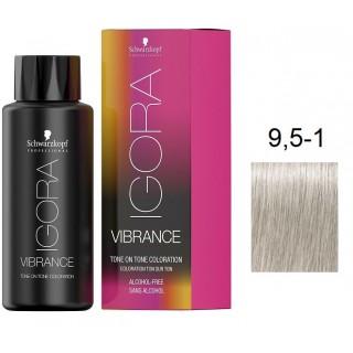 Краска для волос Schwarzkopf igora Vibrance безаммиачная 9,5-1 Платиновый блондин сандрэ 60 мл