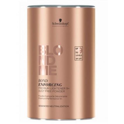 Обесцвечивающая бондинг-пудра Schwarzkopf BM Premium Lightener 9 + Dust Free Powder 450 г ТОП