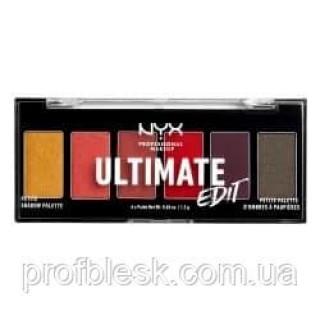 NYX Палетка теней Ultimate Edit №03 (Phoenix) 6*1.2 г
