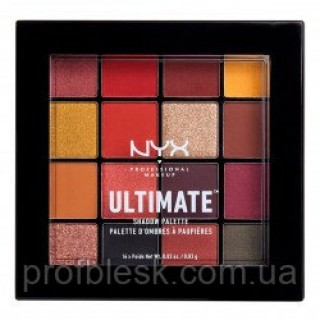 NYX Палетка теней Ultimate №9 (Phoenix) 16*0.83 г