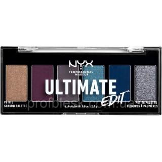 NYX Палетка теней Ultimate Edit №04 (Ash) 6*1.2 г