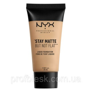 NYX Тональная основа Stay Matte but not flat №02 (Nude) 35мл