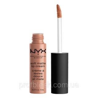 NYX Помада матовая Soft matte lip cream №04 (London) 8 мл ++