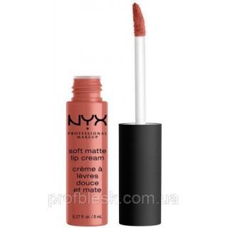 NYX Помада матовая Soft matte lip cream №59 (San Diego) 8 мл