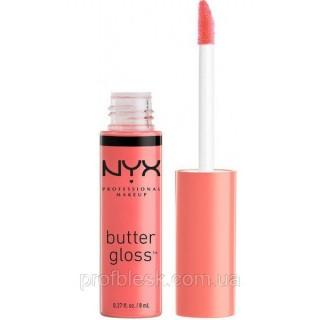 NYX Блеск Butter gloss №11 (maple blondie) 8 мл