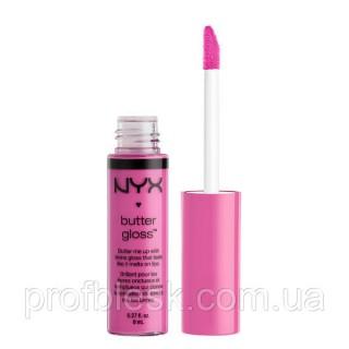 NYX Блеск Butter gloss №26 (cotton candy) 8 мл