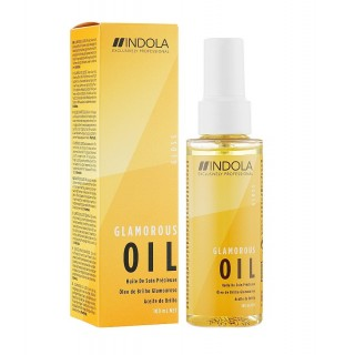 Акция !!! Indola Glamorous Oil Finishing Treatment Масло для блеска 75 мл.